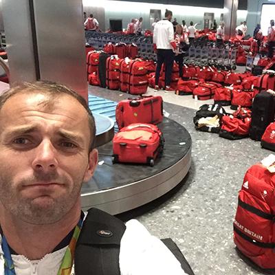 Проблем: Британските олимпийци пътуваха с еднакви куфари и сакове
