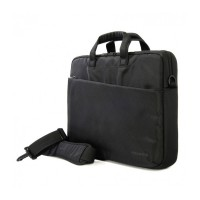 "Компактна черна чанта Tucano 15.6"""