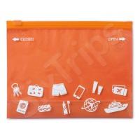 Оранжева непромокаема торбичка за съхранение при пътуване