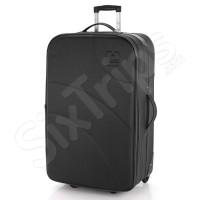 Черен куфар с две колела Gabol Wifi 75см.