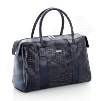 Синя пътна чанта Cobalt, еко кожа
