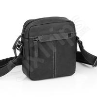 Малка мъжка черна чанта Gabol Orbit, 28см