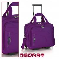 Пътна чанта на колела GABOL 40 см. лилава - Week 10051929