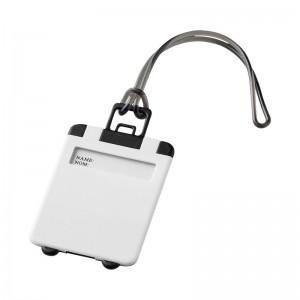 Етикет за багаж Taggy в бяло и черно