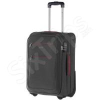 Черен куфар за ръчен багаж 52см Puccini Camerino