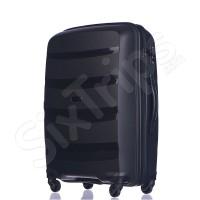 Черен твърд куфар полипропилен 65л Puccini Acapulco