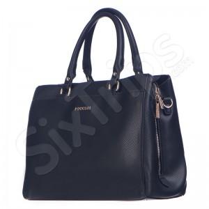 Дамска черна чанта Puccini