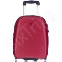 Червен малък куфар за ръчен багаж Wizz Air Puccini Barcelona, 42см