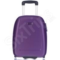 Куфар малък салонен багаж 42см Puccini Barcelona, лилав
