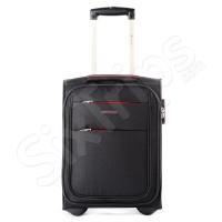 Черен куфар за пътуване с Wizz Air Puccini Camerino