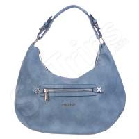 Свежа синя практична чанта Puccini