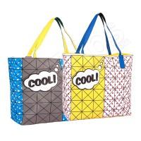 """Свежа чанта в синьо и жълто """"Cool"""""""