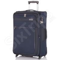 Голям стилен син куфар Travelite Style L 86л.