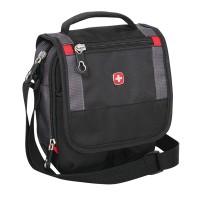 Малка чантичка чанта Wenger в черно и сиво